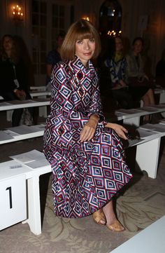 Anna Wintour- my newest icon
