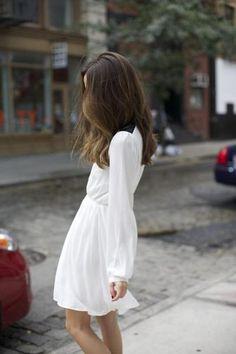 White dress. Yes.