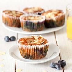 Grain Free & Sugar Free Muffins - sub 1/2 c. applesauce for the eggs to make it vegan