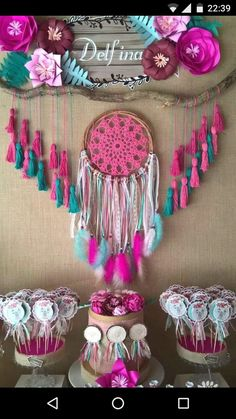 Quinceanera Party Planning – 5 Secrets For Having The Best Mexican Birthday Party Bohemian Baby, Wild One Birthday Party, 3rd Birthday Parties, Birthday Ideas, Bolo Hippie, Baby Shower Boho, Bridal Shower, Teenager Party, Decoration Photo