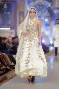 Kuki Concepts  - Pakistani Bridal Fashion at Pantene Bridal Couture Week 2013 PBCW Lahore