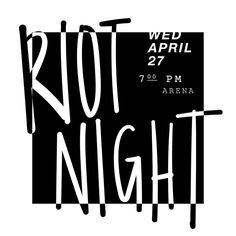 Parents & Students: #RiotNight week has arrived & we are ready to RIOT! #OnWednesdaysWeRiot #WhoAreYouBringing