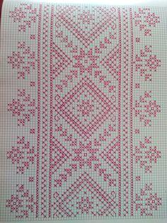 Luanaamelia Russo's media content and analytics Dmc Cross Stitch, Cross Stitch Borders, Cross Stitch Flowers, Cross Stitch Designs, Cross Stitching, Cross Stitch Patterns, Kasuti Embroidery, Cross Stitch Embroidery, Embroidery Patterns