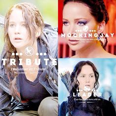 A Tribute, the Mockingjay, and now a leader