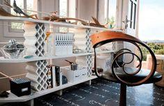 10 ideias de móveis feitos com... tijolos! :-O