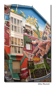 Graffitis en Vitoria