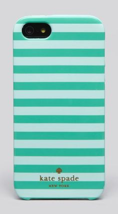 Kate Spade New York iPhone 5 Case - Petula Stripe Cool Iphone Cases, Ipod Cases, Cute Phone Cases, Yellowstone Nationalpark, Phone Accesories, Cute Cases, Mobile Cases, Just In Case, Kate Spade