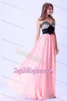 Recommended Beaded Baby Pink Maxi Holiday Dresses for Teenagers