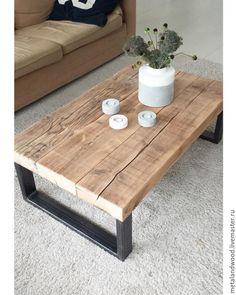 Купить Кофейный столик mod4 - комбинированный, кофейный, столик, кофейный столик, лофт, лофт стиль