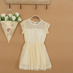 #girls #dresses #vintage #lace #kids