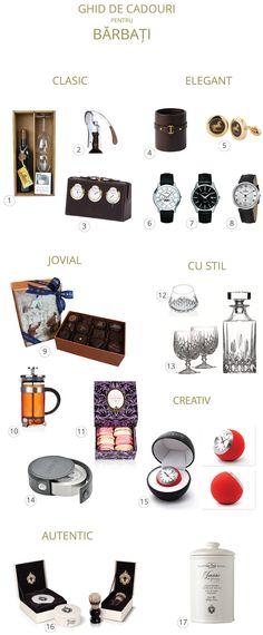 idei de cadouri pentru barbati #cadouri #cadoulmov Presents, Gifts, Shopping, Favors, Favors, Gift, Gift