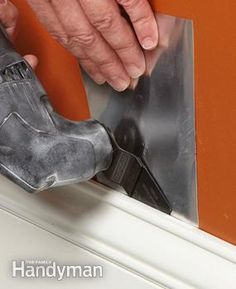 Use an oscillating tool to remove trim without damage.