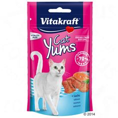 Animalerie  Friandises Vitakraft Cat Yums pour chat  fromage (3 x 40 g)