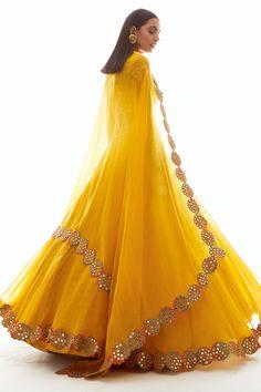 Buy Embellished Organza Lehenga Set by Vvani by Vani Vats at Aza Fashions Indian Gowns Dresses, Indian Fashion Dresses, Indian Designer Outfits, Bridal Dresses, Wedding Dress, Fancy Dress Design, Stylish Dress Designs, Stylish Dresses, Dress Casual