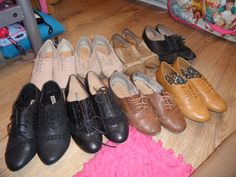 i love brouges,favourite shoes ever! (primark for the win!)