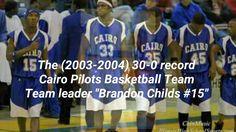 """Cairo's Basketball History""   ""Coach Larry.E Baldwin"""