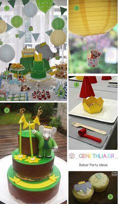 Beautiful Babar Party Ideas!