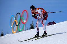 Hiroyuki Miyazawa of Japan competes in the Men's Team Sprint Classic Semi Final (c) Getty Images