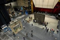 Metropolitan Opera stage crew gets to work tearing down the sets from Arabella pin on this board! Stage Crew, Metropolitan Opera, Tear Down, Orchestra, Nature Photography, Meet, Community, Backstage, Workshop