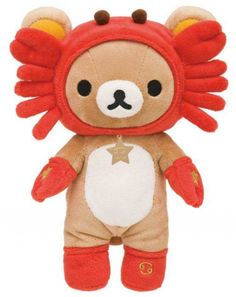 zodiac sign Cancer Rilakkuma plush bear San-X