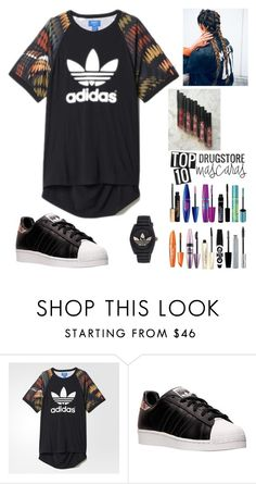 """""""Adidas 194"""" by mrswilkinson ❤ liked on Polyvore featuring adidas"""