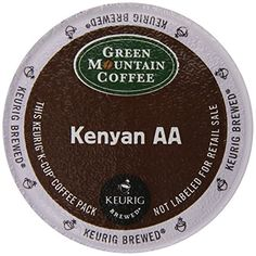 Green Mountain Coffee Kenyan AA, K-Cup Portion Pack for Keurig Brewers 24-Count (Packaging May Vary) - http://teacoffeestore.com/green-mountain-coffee-kenyan-aa-k-cup-portion-pack-for-keurig-brewers-24-count-packaging-may-vary/