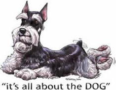 670 best Dogs: Schnauzers In Art Ads & Funnies images on ...