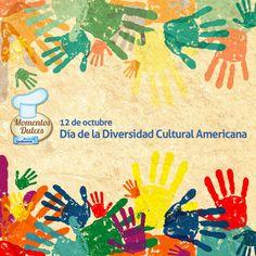 12 de octubre - Día de la Diversidad Cultural Americana. Diversity Quotes, Salvador, Congratulations, Kindergarten, Culture, Graphic Design, Cool Stuff, Books, Painting