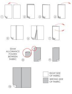 French seam- The Cutting Class | Seams for Sheer Fabrics Simone Rocha