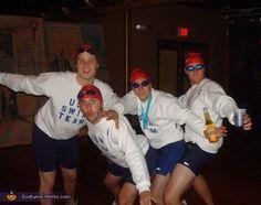 USA Swim Team Costume - Halloween Costume Contest via @Costume Works  G!reat college costume