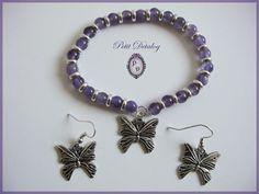 Charmed, Bracelets, Jewelry, Fashion, Amethyst, Butterflies, Bangle Bracelets, Moda, Jewlery