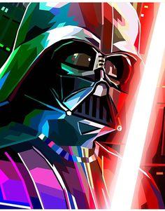 Darth Vader fan art by @Liambrazier