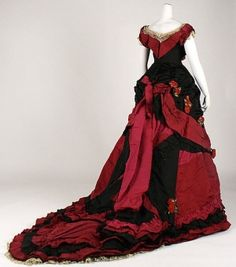 Dress (Ball Gown)    1870s