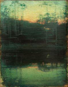 John Felsing - Sunset Grave - 19 x 15 Oil on Linen