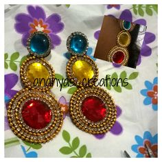 Beautiful ear rings for beautiful ladies