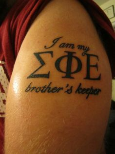 SigEp Tattoo inspiration.