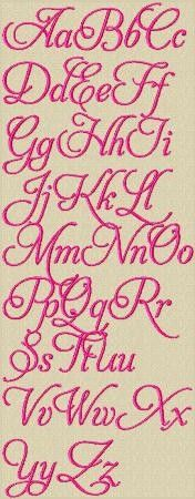Love Lace Machine Embroidery Alphabet $4.70