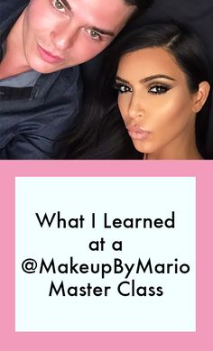 One beauty writer spills on the game-changing tricks she learned at a sneak peek of Mario Dedivanovic's Master Class.