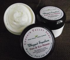 Whipped Squalane Face & Eye Mousse || Chagrin Valley Soap