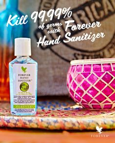 Many hand sanitizers can leave your hands feeling dry, itchy or oversensitive. Forever Hand Sanitizer® is rich in aloe vera to keep your hands feeling soft and smooth after sanitizing. You'll love the pleasant, stimulating scent of lemon and lavender. Best Hand Sanitizer, Natural Hand Sanitizer, Forever Business, Natural Aloe Vera, Flu Season, Forever Living Products, Bath And Body Works, How To Stay Healthy, Hands