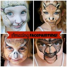 Totally Amazing Face Painting Art By New Zealand Mom