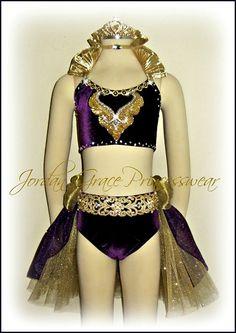 """Royals""-Jordan Grace Princesswear dance costumes"