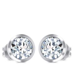 Amore Solitaire Earring solitaire earring Diamond Solitaire Earrings, Jewels, Engagement Rings, Enagement Rings, Wedding Rings, Jewerly, Diamond Engagement Rings, Gemstones, Fine Jewelry