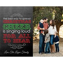 My favorite Christmas card templates for Photoshop!