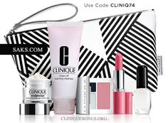 Lowered qualifier: spend only $35 at Saks to get this Clinique gift for free. http://cliniquebonus.org/clinique-bonus-time/ A promo code required.