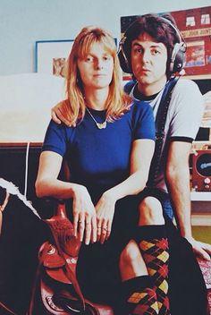 Linda & Paul (side note- i love linda's socks!)