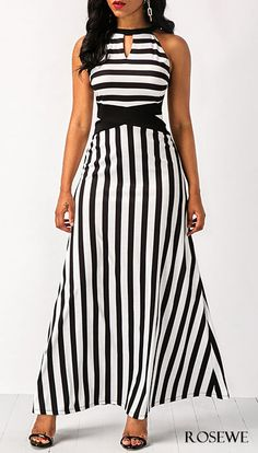 Cute black and white dress for women at Rosewe.com, free shipping worldwide, check it out.