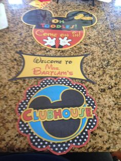 My classroom door sign. Found on etsy at https://www.etsy.com/listing/207102684/mickey-mouse-clubhouse-birthday-door?ref=shop_home_active_2&ga_search_query=mickey