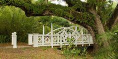 Victorian Bridge, built 2005. Koreshan Settlement State Park, Florida
