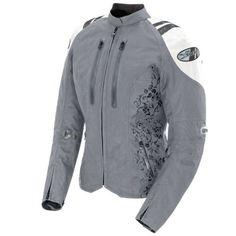 Amazon.com: Joe Rocket Atomic 4.0 Women's Textile Riding Jacket (Silver/White, X-Large): Automotive